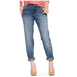 GAP Jeans - Gap Sexy Boyfriend Betty Distressed Ankle Jeans